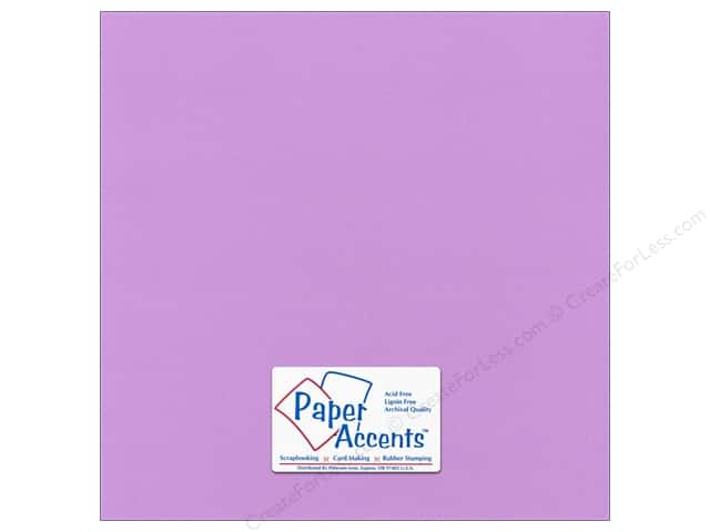 Paper Accents Cardstock 12 x 12 in. #56609 Canvas Wildflower (25 sheets)