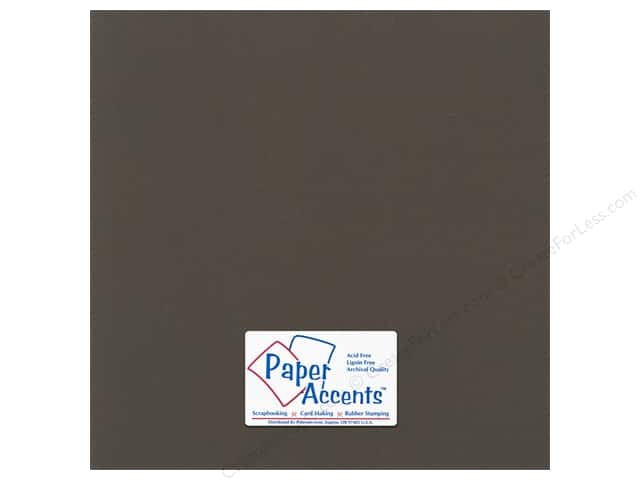 Paper Accents Cardstock 12 x 12 in. # 59908 Canvas Brown Eyes (25 sheets)
