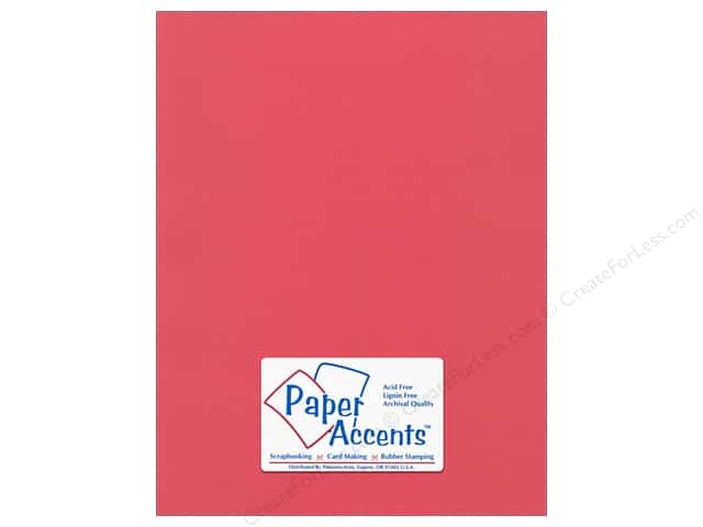Paper Accents Cardstock 8 1/2 x 11 in. #51114 Canvas Pimento (25 sheets)