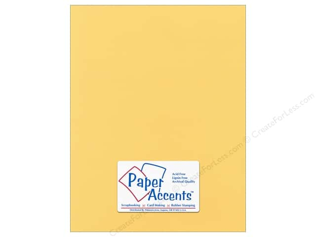 Cardstock 8 1/2 x 11 in. Canvas Tuscan Sun by Paper Accents (25 sheets)