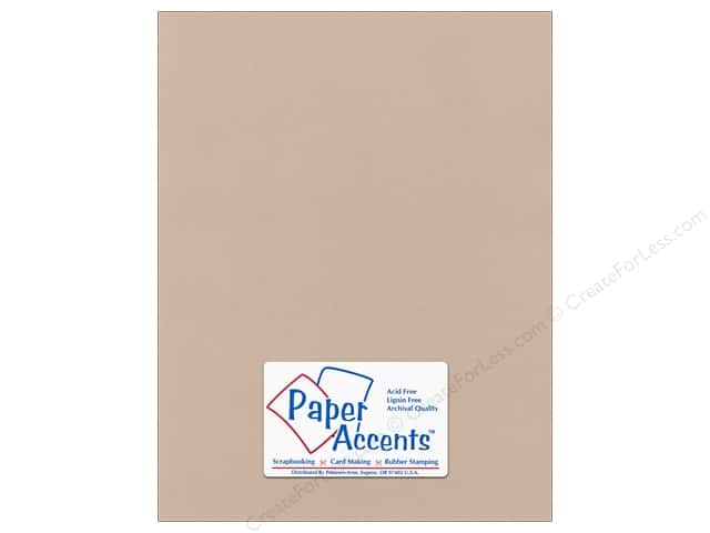 Paper Accents Cardstock 8 1/2 x 11 in. #58811 Canvas Sandy Beach (25 sheets)