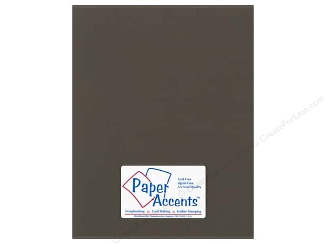 Paper Accents Cardstock 8 1/2 x 11 in. #59908 Canvas Brown Eyes (25 sheets)