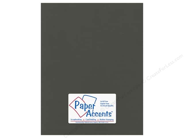 Paper Accents Cardstock 8 1/2 x 11 in. #59909 Canvas Espresso Bean (25 sheets)