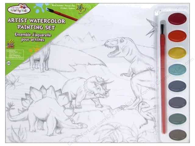 Multicraft Krafty Kids DIY Lil Artist Painting Set Into The Wild