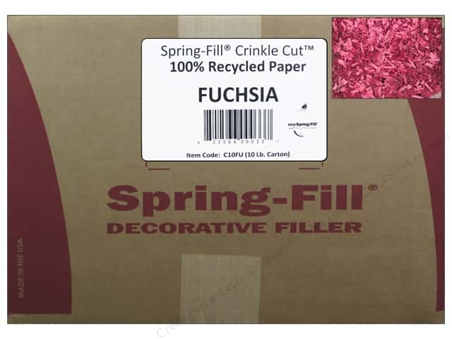 Krinkle Shred by Cindus 10 lb. Bombay Pink/Fuchsia