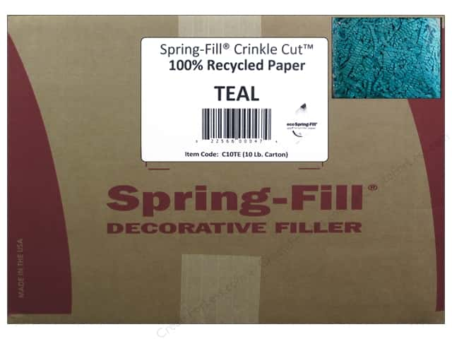 Krinkle Shred by Cindus 10 lb. Turquoise/Teal