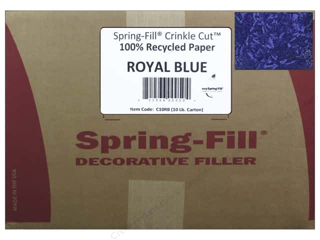 Krinkle Shred by Cindus 10 lb. Royal Blue
