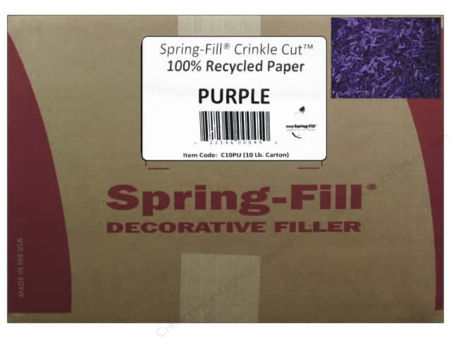 Krinkle Shred by Cindus 10 lb. Purple