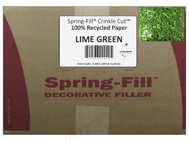 Krinkle Shred by Cindus 10 lb. Lime Green