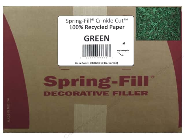 Krinkle Shred by Cindus 10 lb. Emerald Green/Green