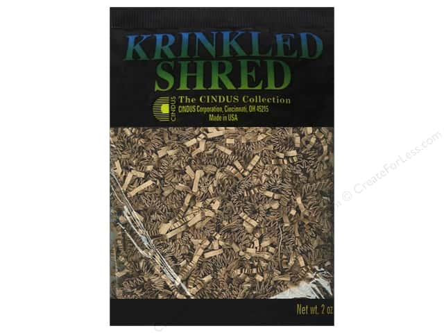 Krinkle Shred by Cindus 2 oz. Kraft
