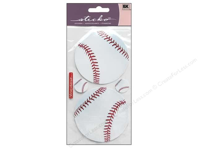 EK Sticko Stickers Photo Baseball