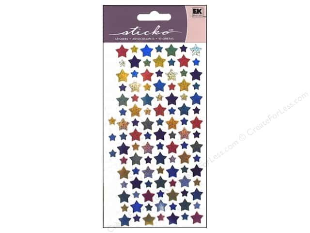 EK Sticko Stickers Mini Stars
