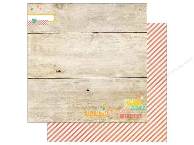 Simple Stories 12 x 12 in. Paper Summer Vibe Just Beachy (25 sheets)