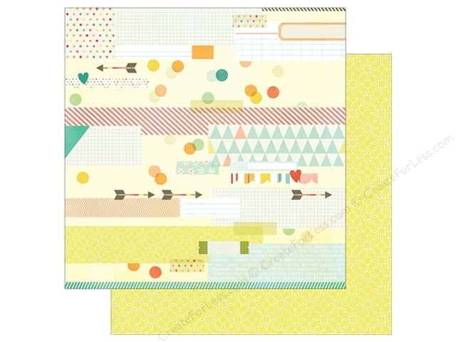Simple Stories 12 x 12 in. Paper Summer Vibe Sun Kissed (25 sheets)