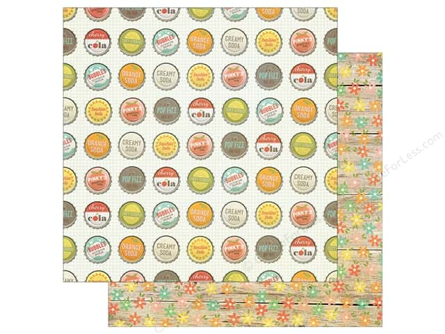 Simple Stories 12 x 12 in. Paper Summer Vibe Pop Fizz (25 sheets)