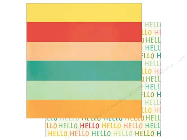 Simple Stories 12 x 12 in. Paper Summer Vibe Oh Hello (25 sheets)