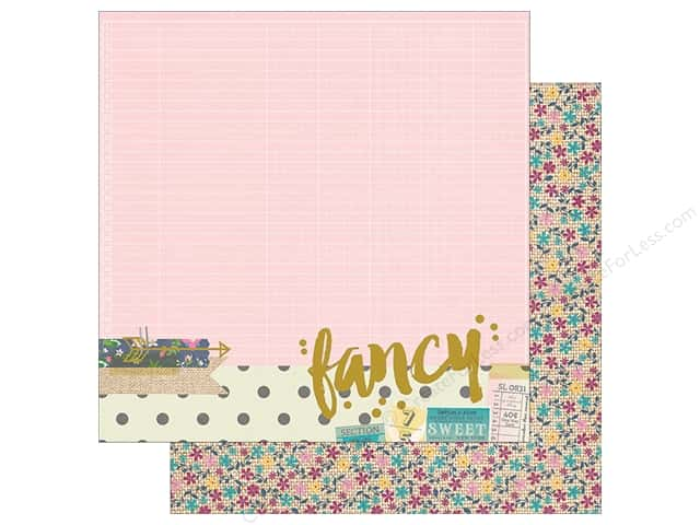 "Simple Stories Collection So Fancy Paper 12""x 12"" Foil Fancy (25 sheets)"
