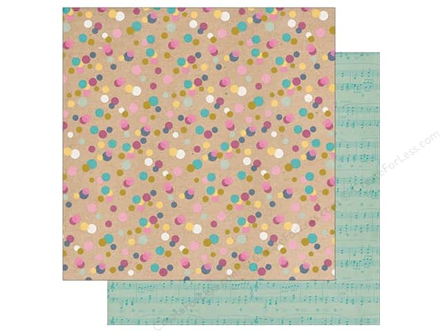 "Simple Stories Collection So Fancy Paper 12""x 12"" Foil Too Cute (25 sheets)"
