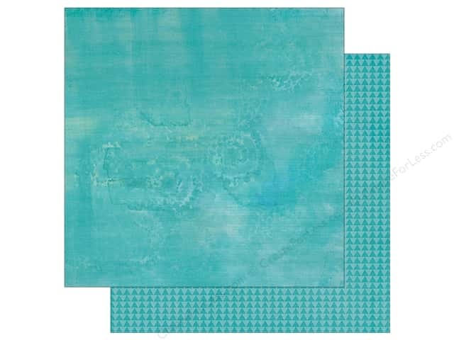 "Simple Stories Collection So Fancy Paper 12""x 12"" Triangle Teal (25 sheets)"