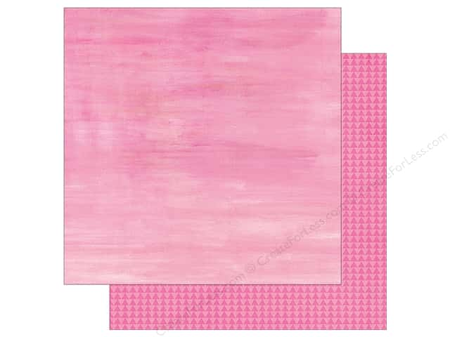 "Simple Stories Collection So Fancy Paper 12""x 12"" Triangle Pink (25 sheets)"
