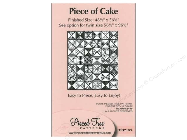 Pieced Tree Tiny Piece Of Cake Pattern Card