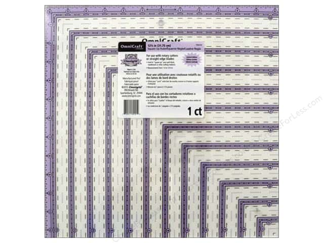 Omnigrid OmniCraft Ruler 12 1/2 x 12 1/2 in.
