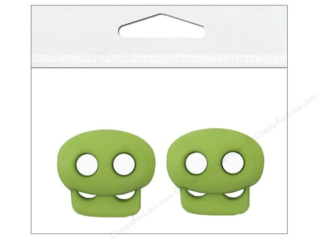 Petersen-Arne Mini Cord Locks 1/8 in. Lime 2 pc.
