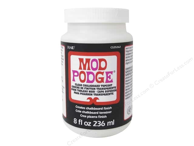 Plaid Mod Podge Chalkboard Topcoat 8 oz. Clear
