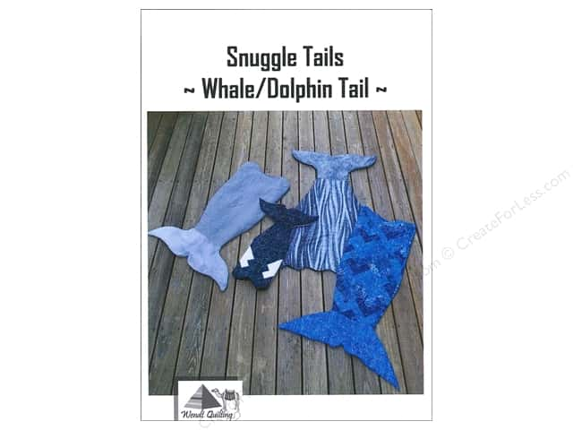 Wendt Quilting Snuggle Tails Whale/Dolphin Pattern