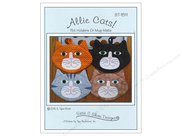Susie C Shore Allie Cats Pattern