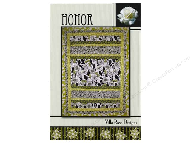 Villa Rosa Designs Honor Pattern Card