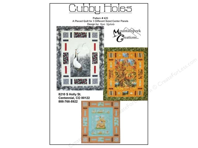 Mountainpeek Creations Cubby Holes Pattern