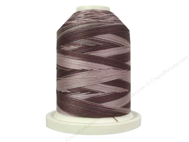 Signature 100% Cotton Thread 700 yd. #M80 Variegated Dusty Mauves
