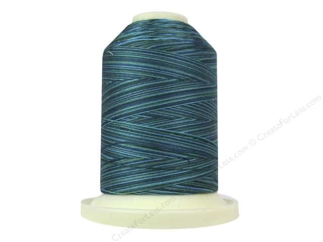 Signature 100% Cotton Thread 700 yd. #M18 Variegated Island Waters