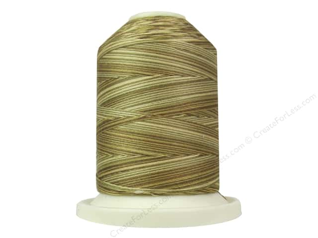 Signature 100% Cotton Thread 700 yd. #M75 Variegated Tan Tints