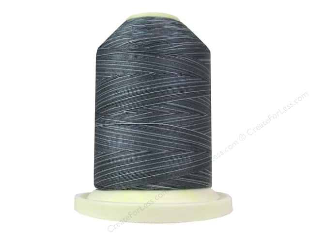 Signature 100% Cotton Thread 700 yd. #SM81 Variegated Smoky Blues