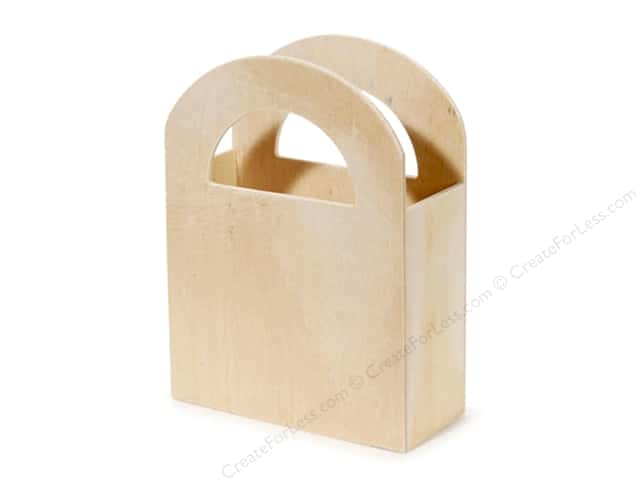 Darice Wood Favor Box Unfinished 4 1/4 x 5 3/4 x 1 7/8 in.