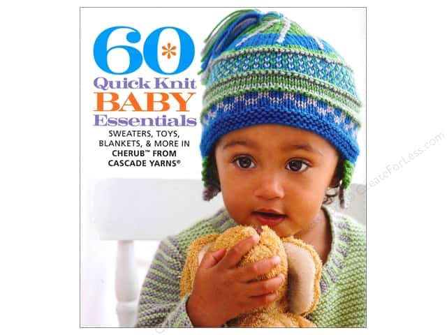 Sixth & Spring 60 Quick Knit Baby Essentials Book