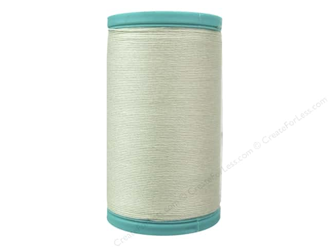 Coats Cotton Covered Bold Hand Quilting Thread 175 yd. #8010 Natural