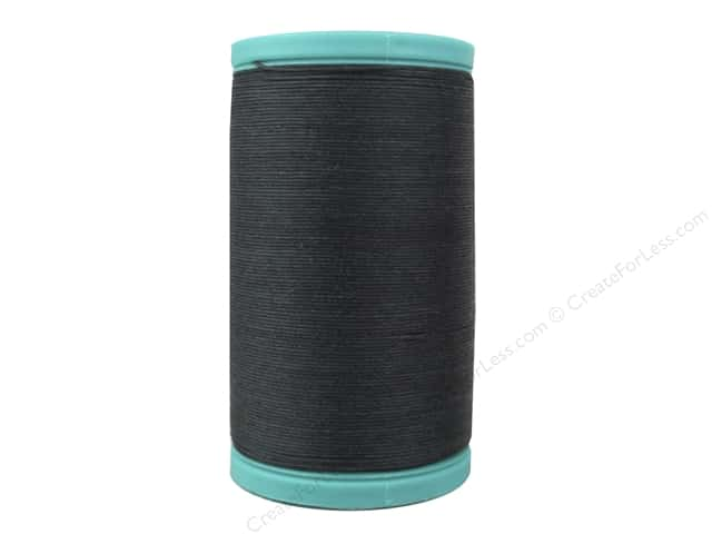 Coats Cotton Covered Bold Hand Quilting Thread 175 yd. #900 Black