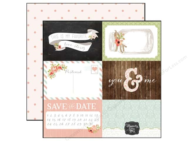 Carta Bella 12 x 12 in. Paper Rustic Elegance 4x6 Journaling Cards (25 sheets)