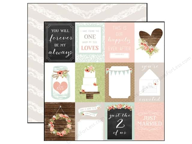 Carta Bella 12 x 12 in. Paper Rustic Elegance 3 x 4 Journaling Cards (25 sheets)