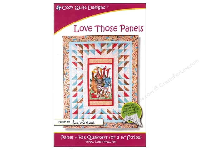 Cozy Quilt Designs Love Those Panels Pattern
