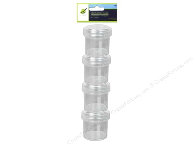Multicraft Mix & Store Cups 4pc