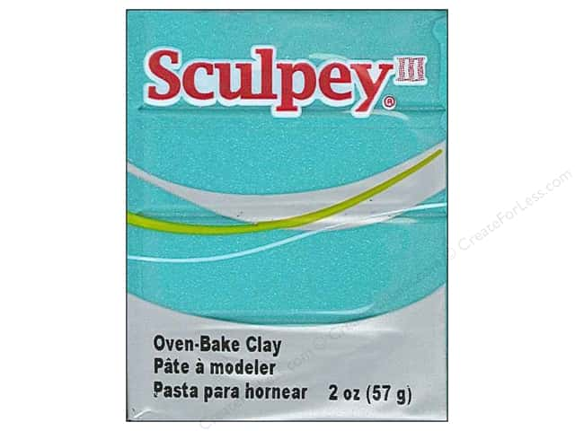 Sculpey III Clay 2 oz. Teal Pearl