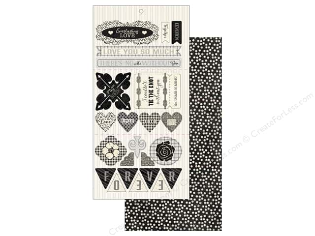 Authentique Die Cuts Everlasting Components (12 sheets)