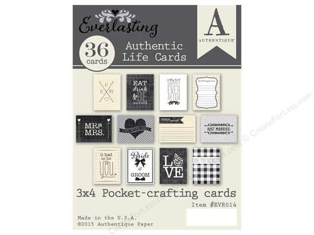 Authentique Collection Everlasting Life Cards
