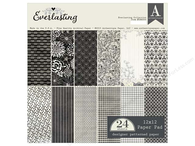 Authentique 12 x 12 in. Paper Pad Everlasting Collection