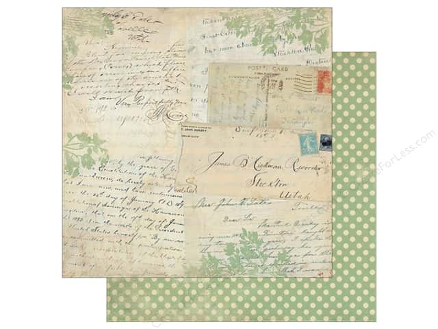 Authentique 12 x 12 in. Paper Legacy History (25 sheets)